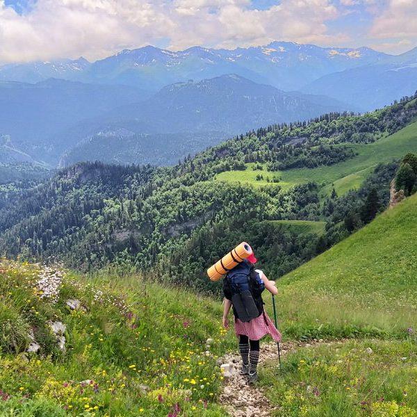 Поход на Ачешбок и Большой Тхач