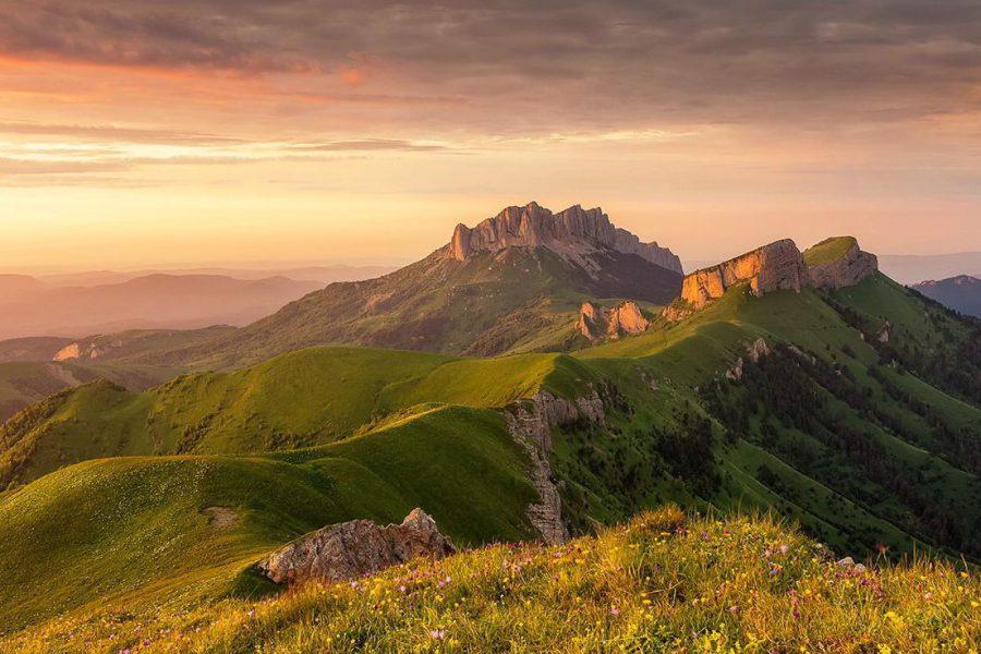 Поход по Кавказу «Ачешбок - Большой Тхач»