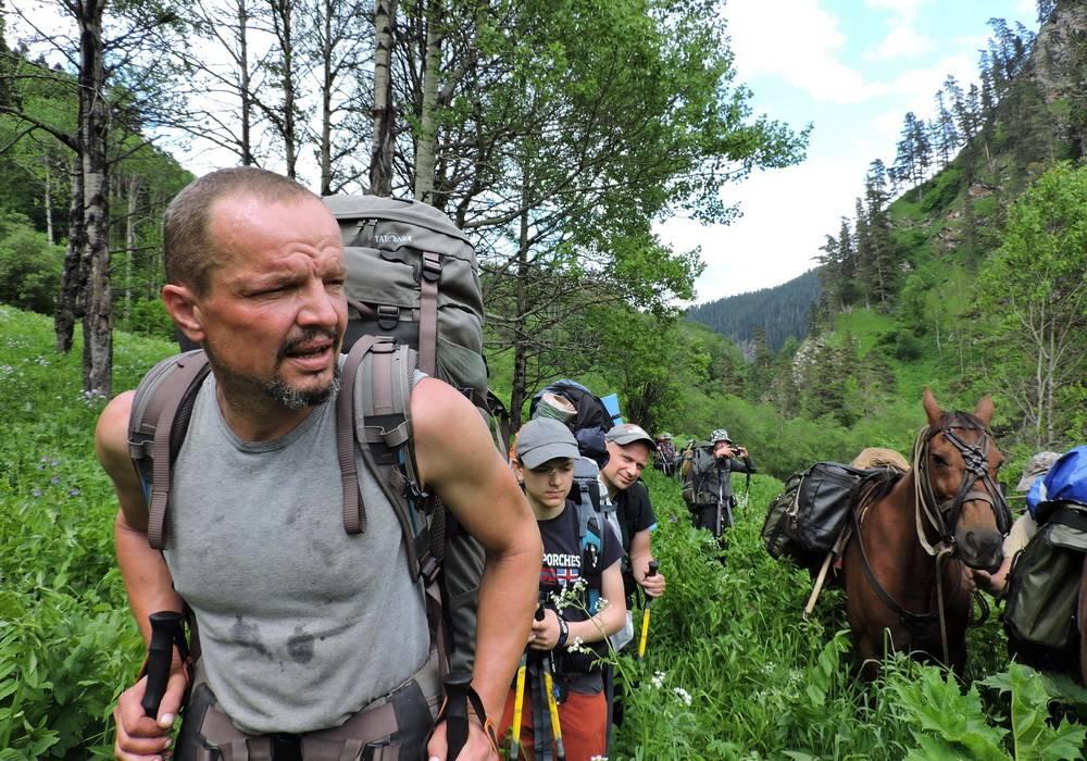 Поход по Кавказу на озеро Роберта Скотта