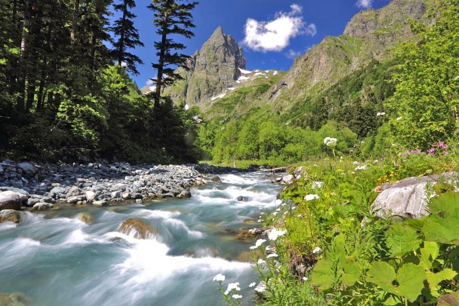 Поход по Кавказу «Псебай - Красная Поляна»