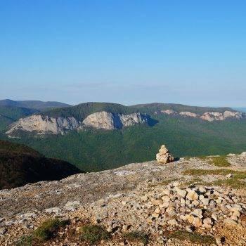 Гора Седам Кая Орлиный залет в Крыму