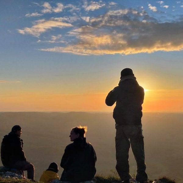 Закат на горе Бойка