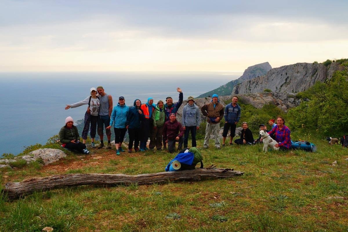 Походы в горы Крыма