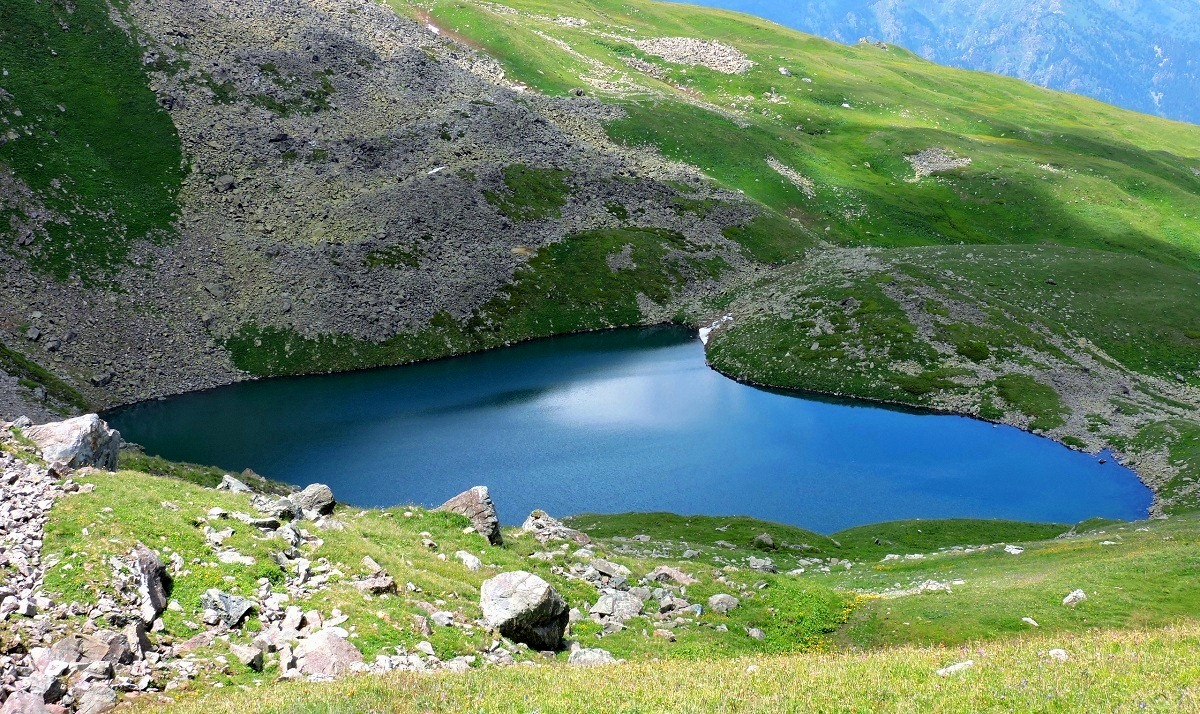 Экстрим-поход по Кавказу «Озеро Роберта Скотта»: отчёт инструктора