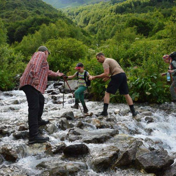 Походпо Кавказу на Имеретинские озера
