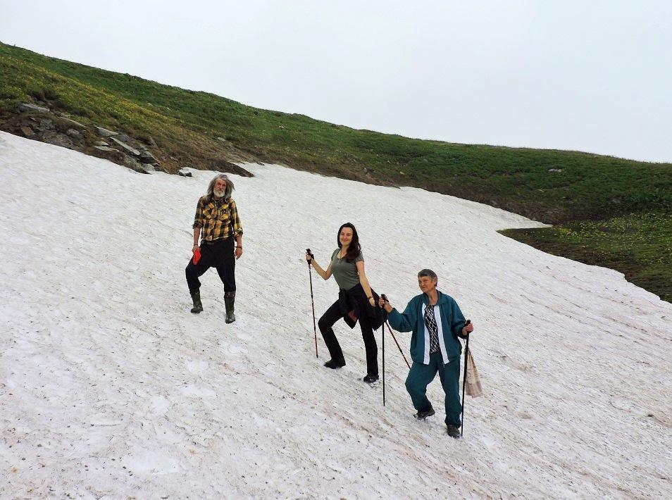 Поход на Озеро Роберта Скотта