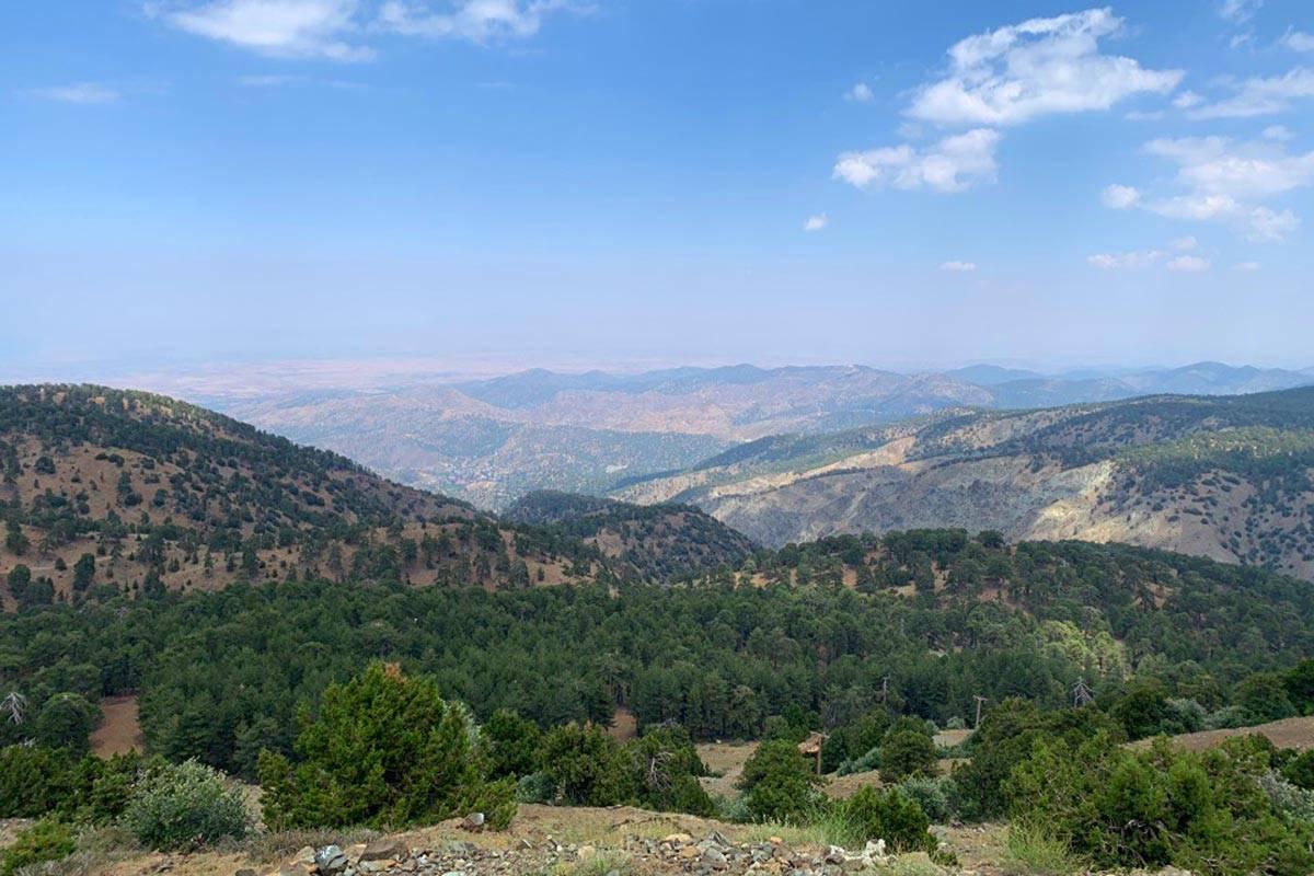 Гора Олимбос – снежная вершина богов