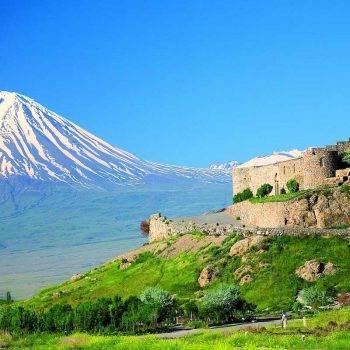 Где находится гора Арарат