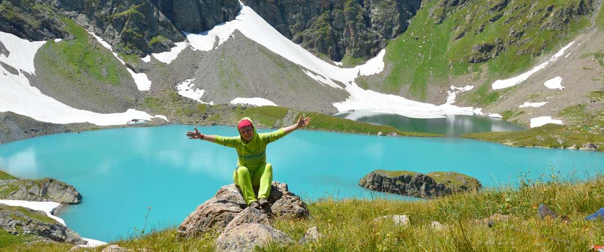 Походы в горы без рюкзаков