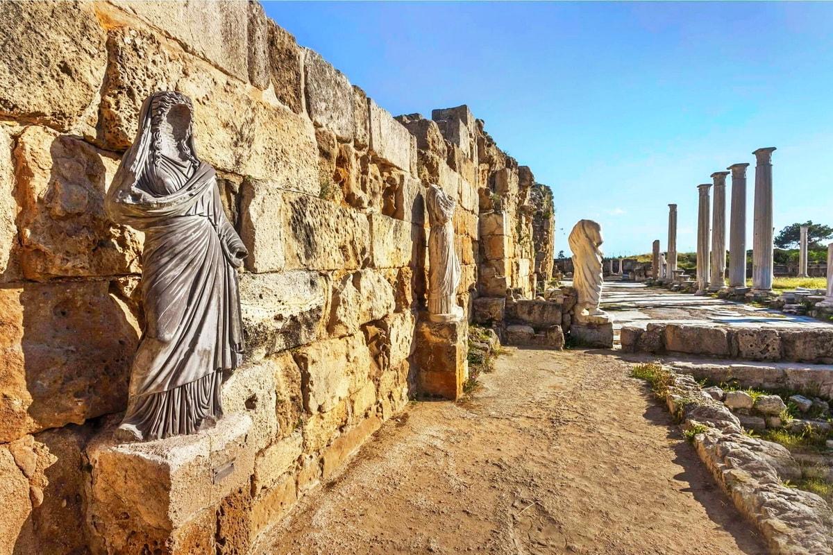 Саламис, античный город на Кипре