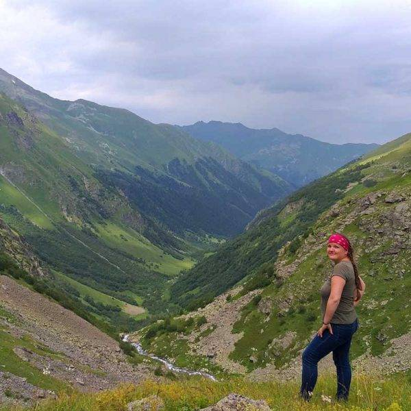 пеший поход по горам
