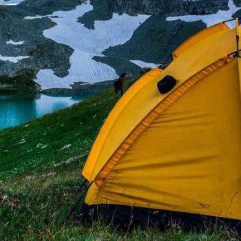 как не замёрзнуть в палатке