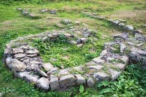 Каменный круг в Аланском городище