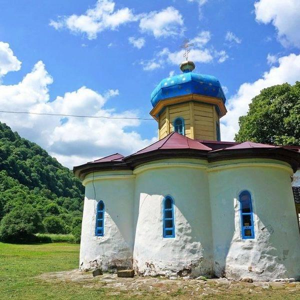 Южный храм, Аланское городище