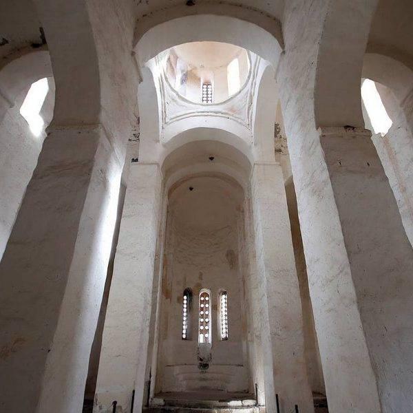 Северный храм внутри, Аланское городище