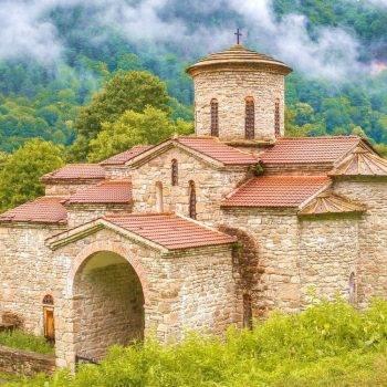 Северный храм, Аланское городище