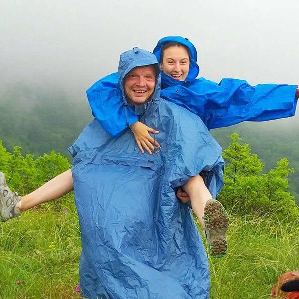 Дождевик для похода