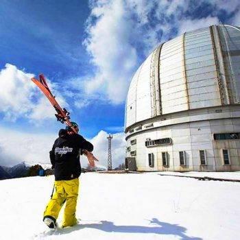 Обсерватория в Нижнем Архызе