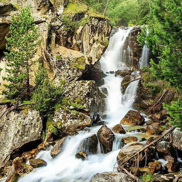 Водопад Ходюк
