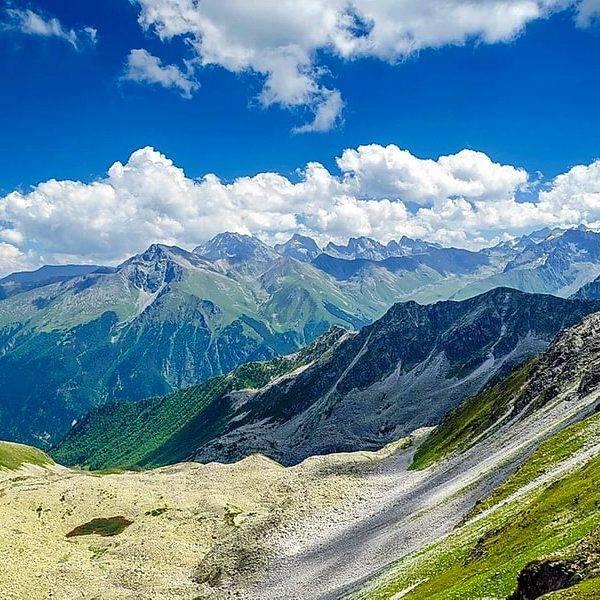 Горные цепи Кавказа