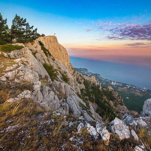 Вид на море с Ай-Петри