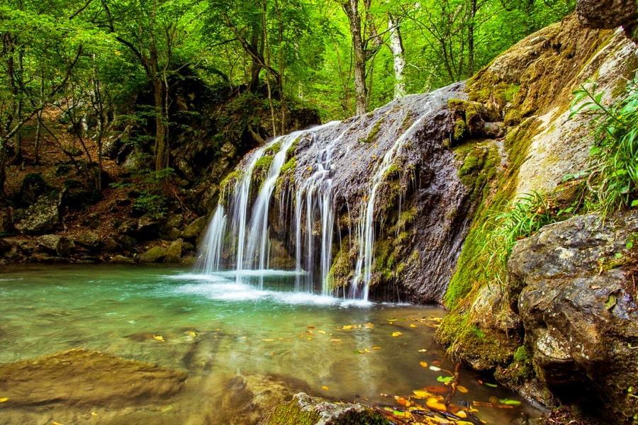Водопады Хапхальского ущелья