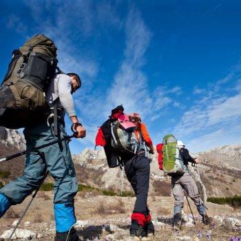 Походы в горы с рюкзаком