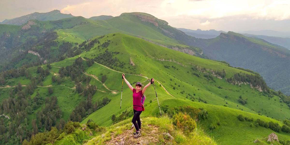 Походы в горы Кавказа для начинающих