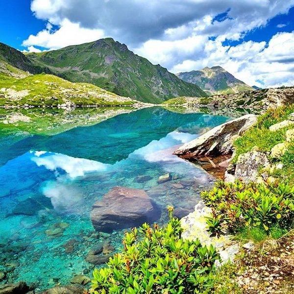 Озеро Семицветное, Архыз