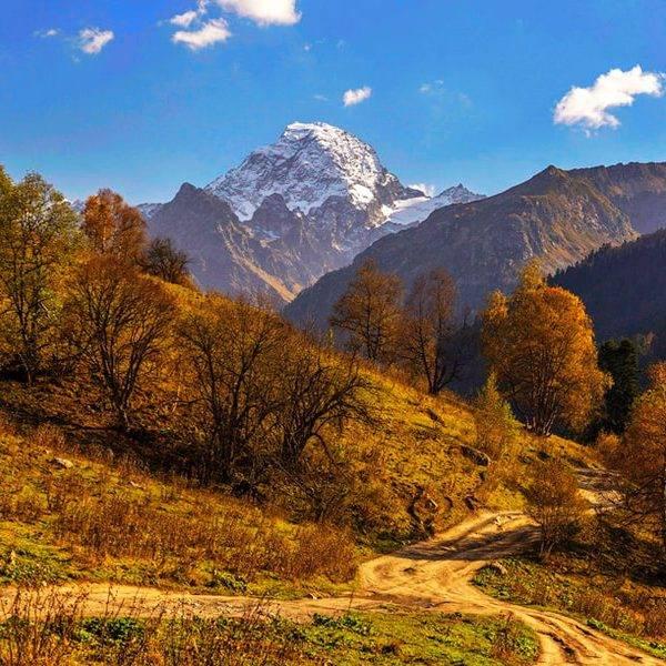 Осень в Архызе, гора София