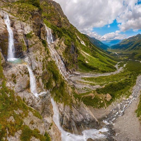Софийские водопады, Архыз
