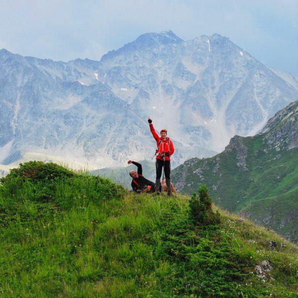 Палаточный лагерь на Кавказе