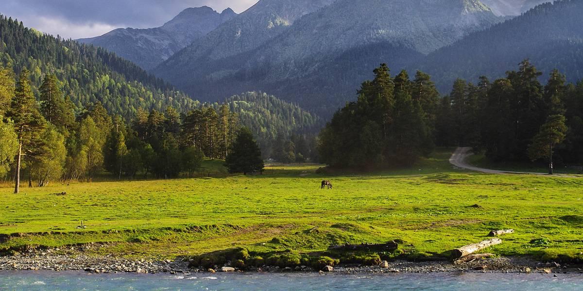 Софийская поляна в Архызе