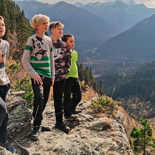 Семейные походы в горы